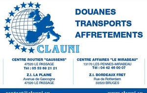 TRANSPORTS CLAUNI